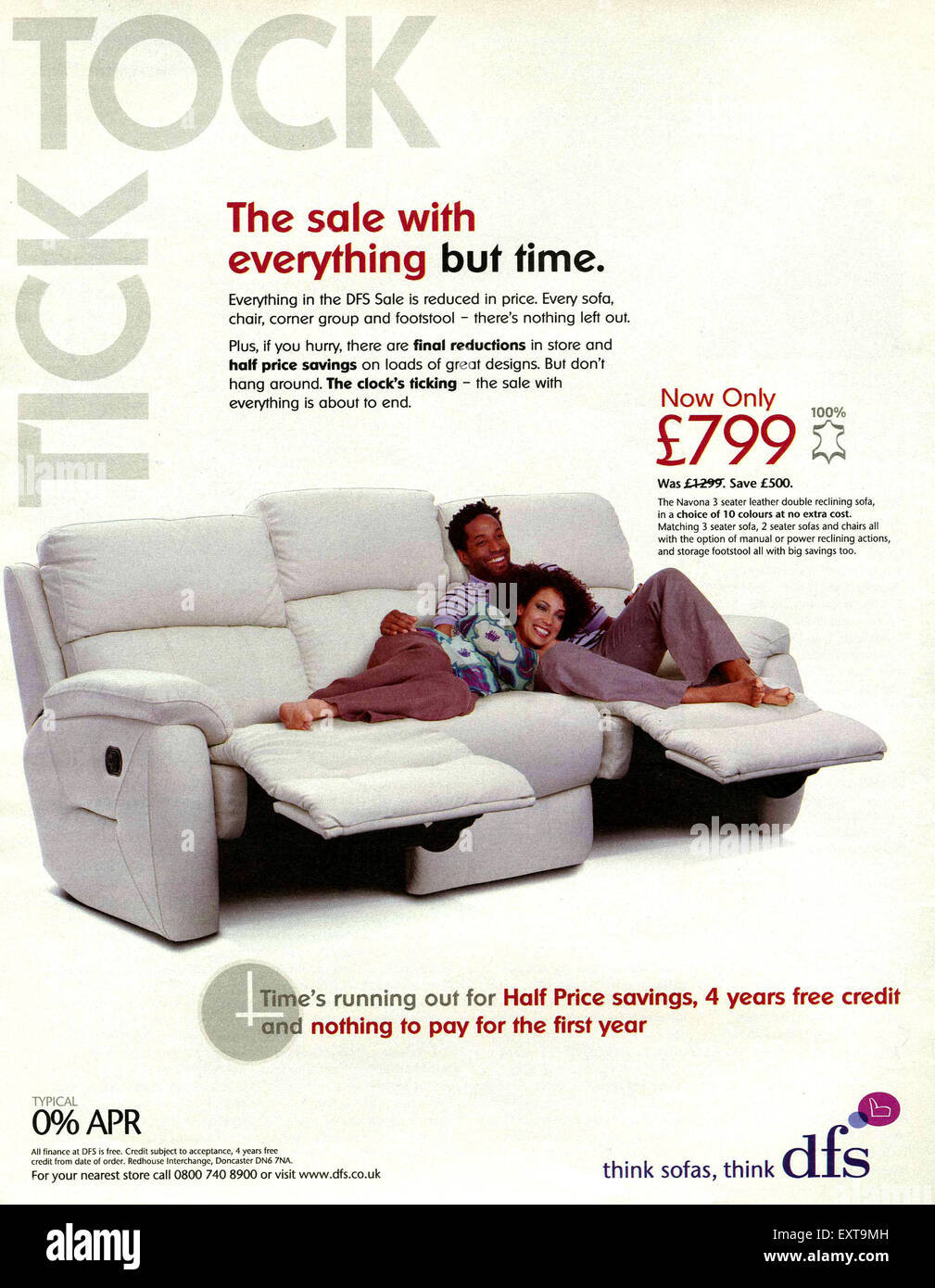 Enjoyable 2000S Uk Dfs Magazine Advert Stock Photo 85357009 Alamy Caraccident5 Cool Chair Designs And Ideas Caraccident5Info
