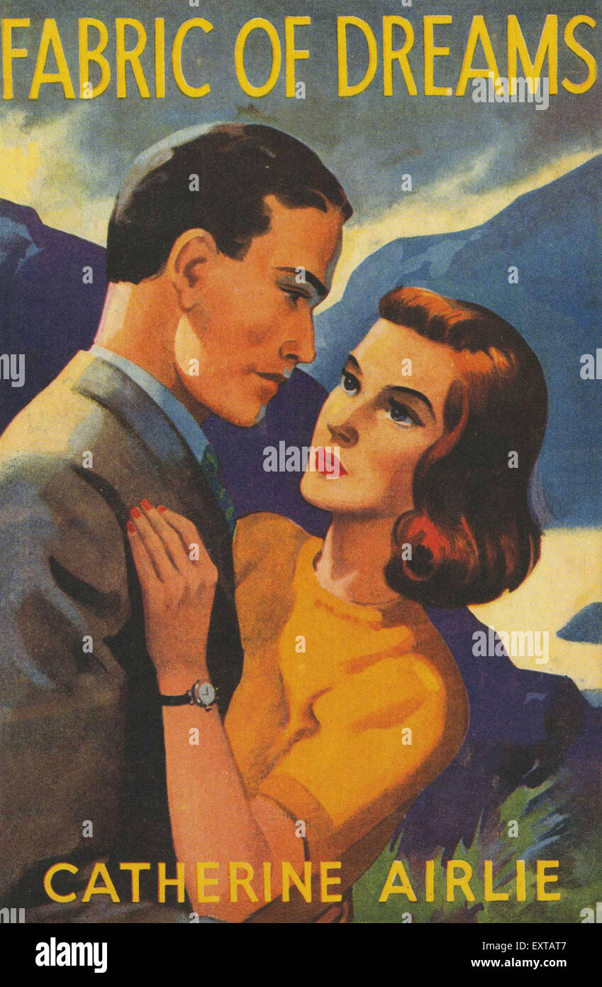 1960s UK Mills & Boon Book Cover - Stock Image