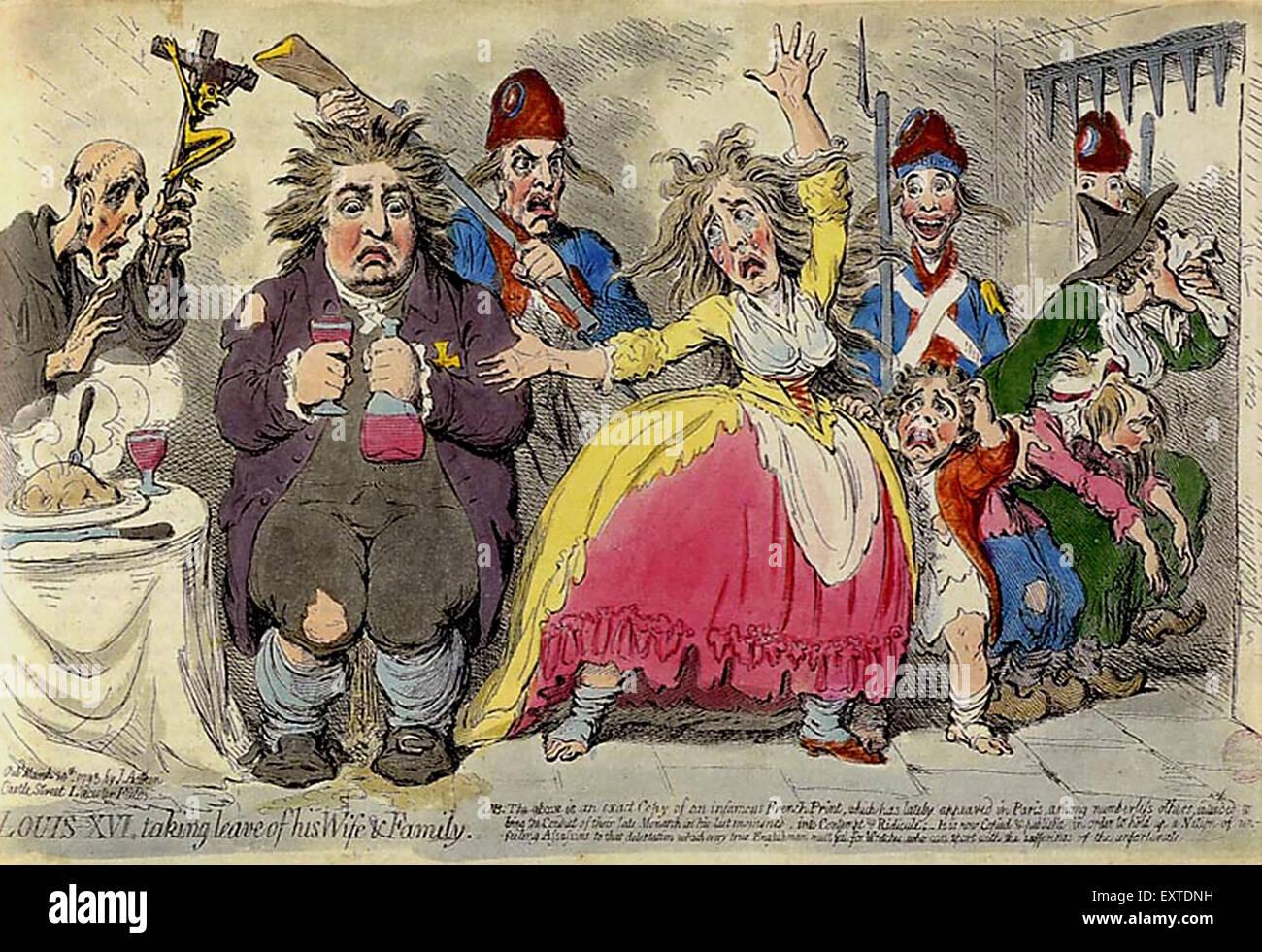 1840s & Pre UK Louis XVI Magazine Plate - Stock Image