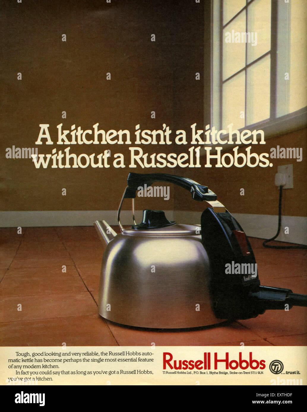 UK Russell Hobbs Magazine Advert - Stock Image
