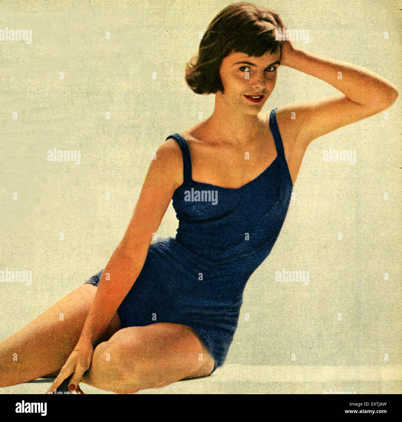 dc786f7b76f Swimwear 1950s Stock Photos & Swimwear 1950s Stock Images - Alamy