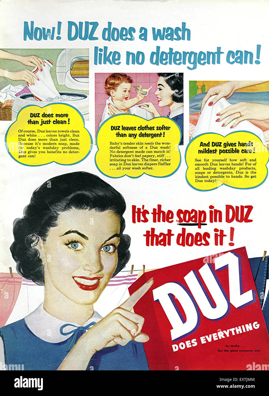woman housework 1950s stock photos woman housework 1950s stock