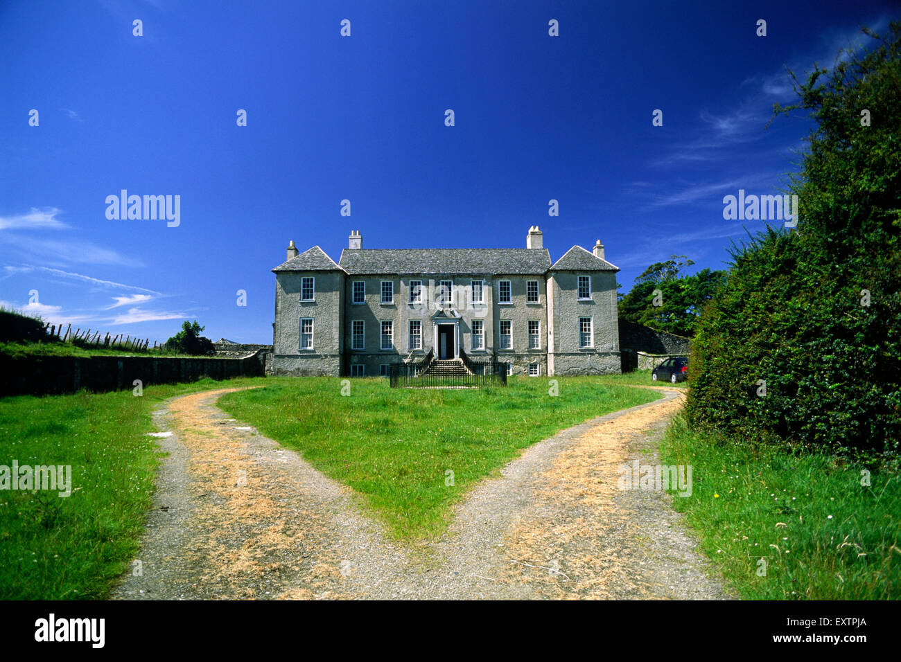 ireland, county donegal, buncrana, castle (18th century) - Stock Image