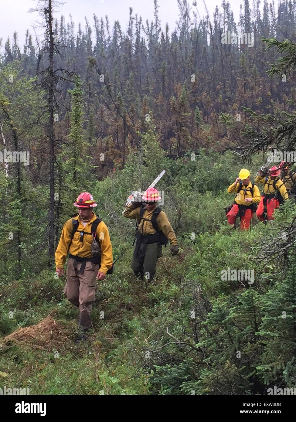 New Recruits With The Bureau Of Land Management Backcountry Stock Photo Alamy
