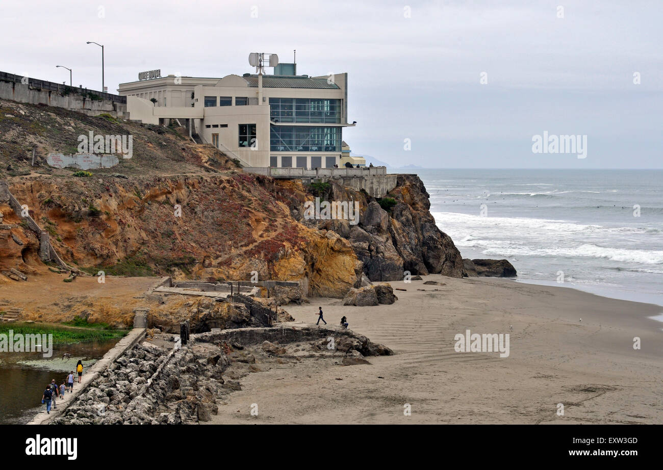Cliff House,  San Francisco, California, - Stock Image