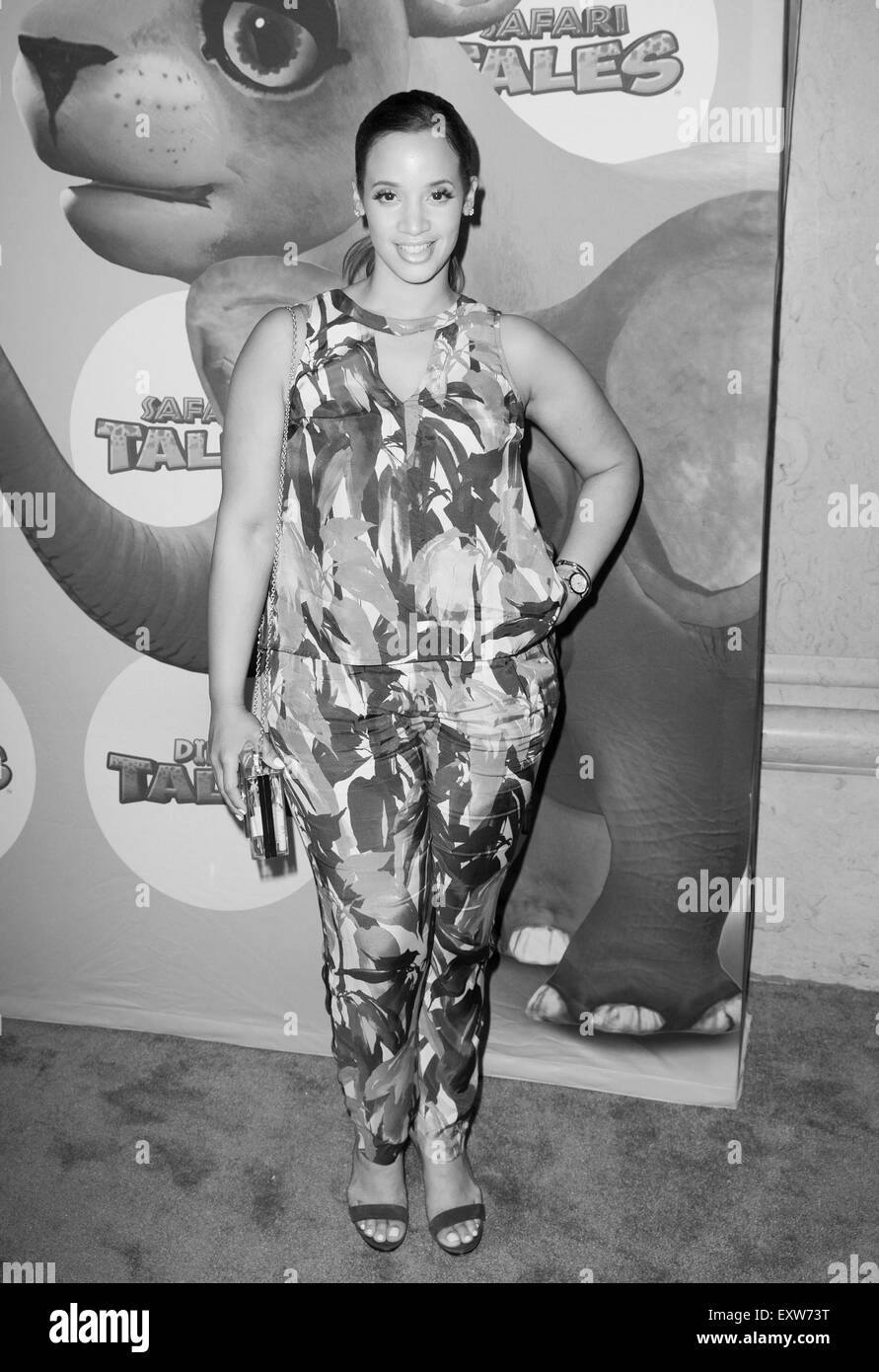 New York, NY, USA. 16th July, 2015. Dascha Polanco at arrivals for Dino Tales and Safari Tales Launch Party, The - Stock Image