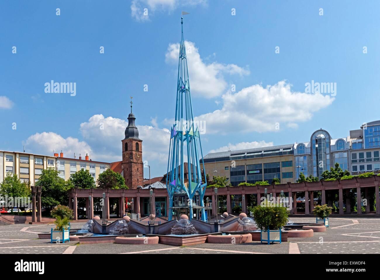 Exerzierplatz in Pirmasens, Rheinland-Pfalz, Deutschland - Stock Image