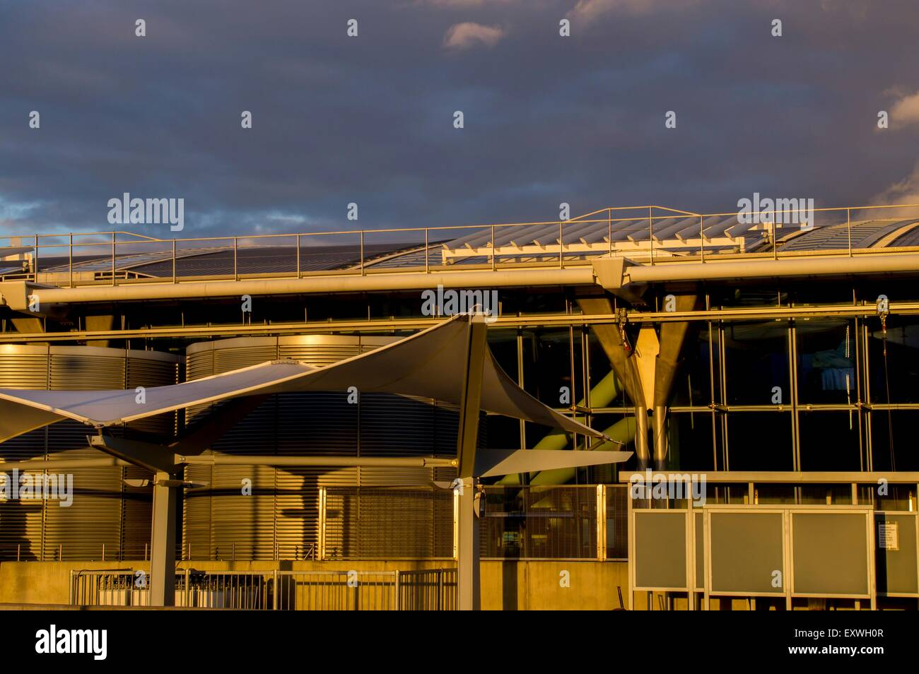 Airport, Heathrow, London, England, Great Britain, Europe Stock Photo