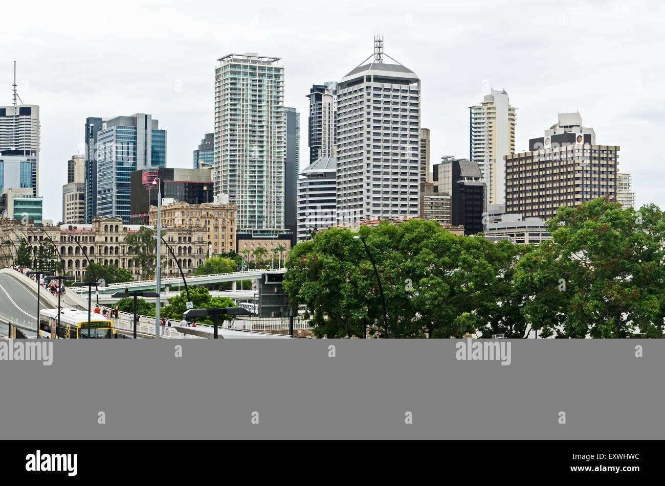 Skyline, Brisbane, Queensland, Australia - Stock Image