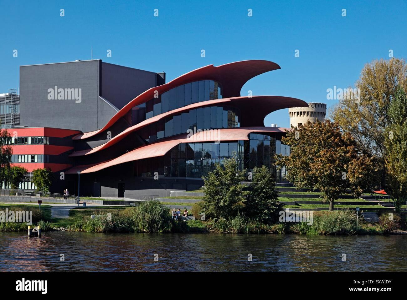 Hans Otto Theater, Potsdam, Brandenburg, Deutschland - Stock Image