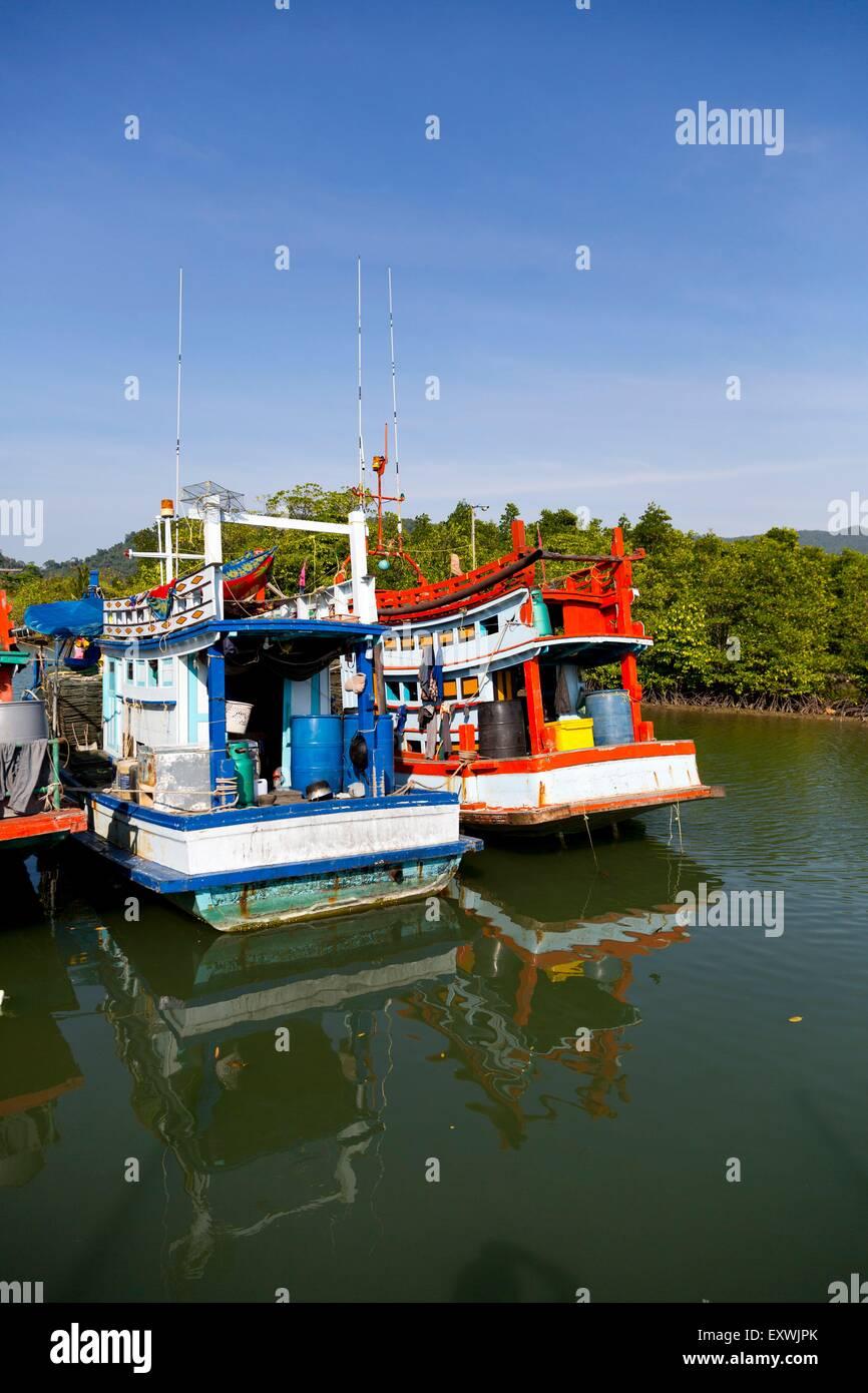Salak Phet, Ko Chang, Thailand, Asia - Stock Image
