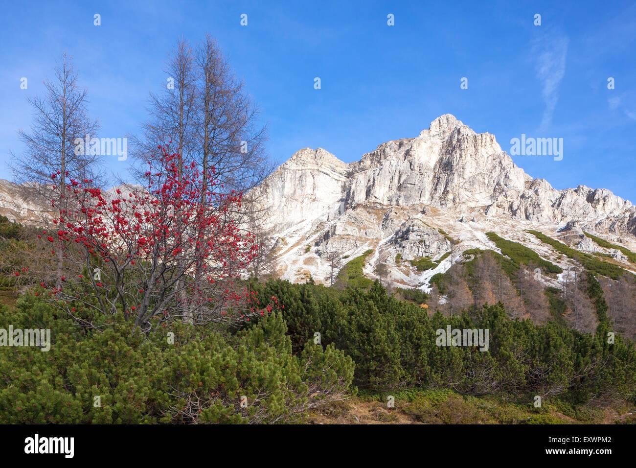 Kleine und Grosse Kesselspitze, Radstaedter Tauern, Salzburger Land, Austria, Europe - Stock Image