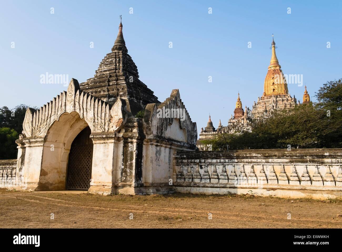 Ananda Temple, Bagan, Myanmar, Asia - Stock Image