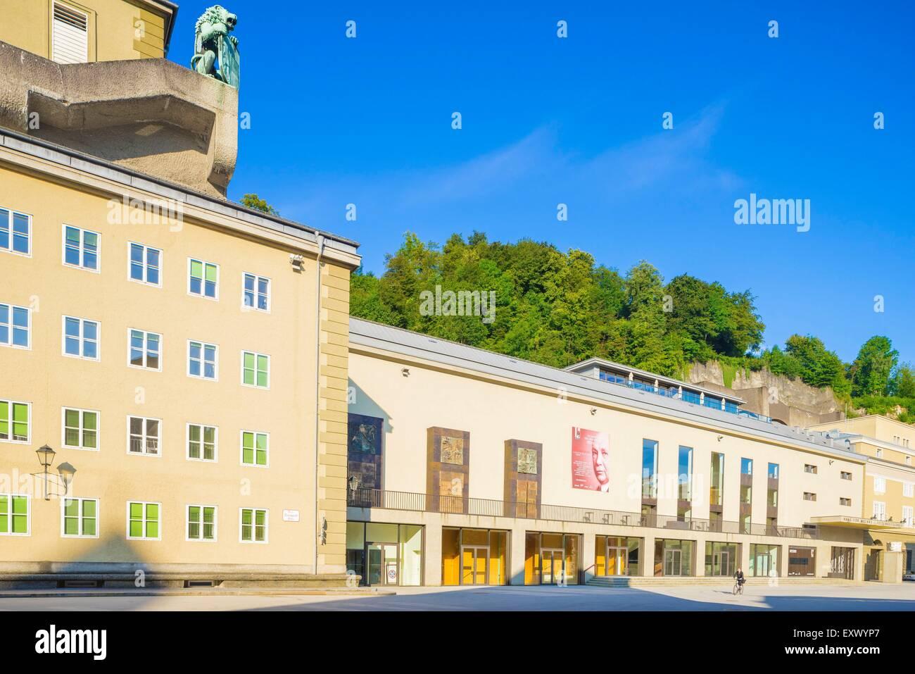 Festival hall, Salzburg, Austria Stock Photo