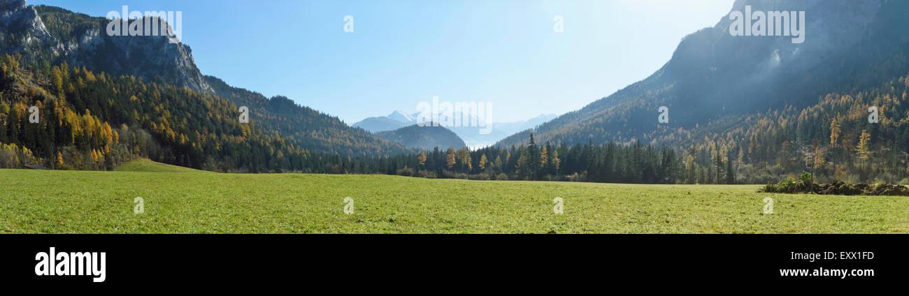Mountain landscape, Styria, Austria, Europe Stock Photo