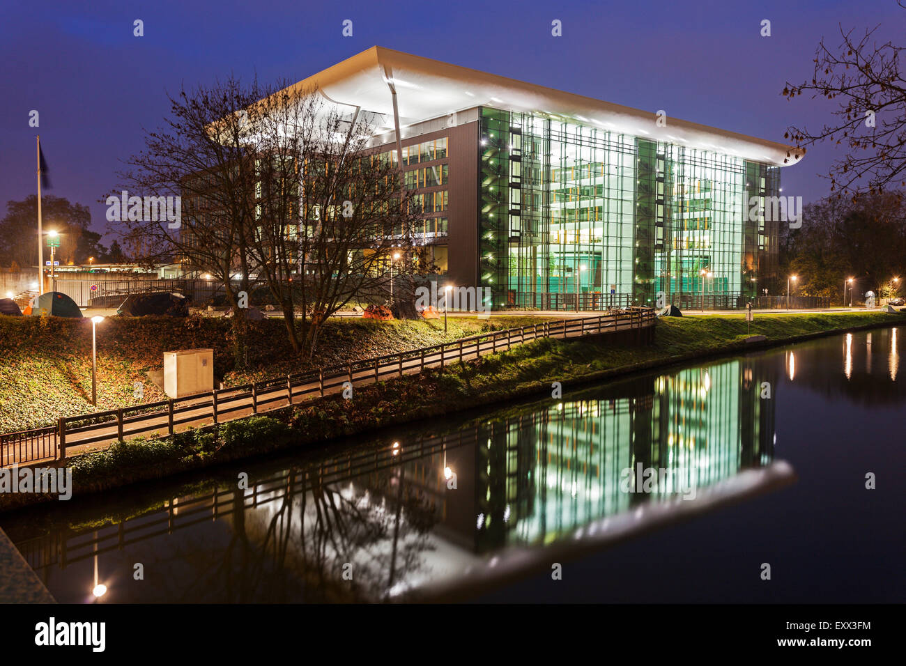 Building of Council of Europe - Stock Image