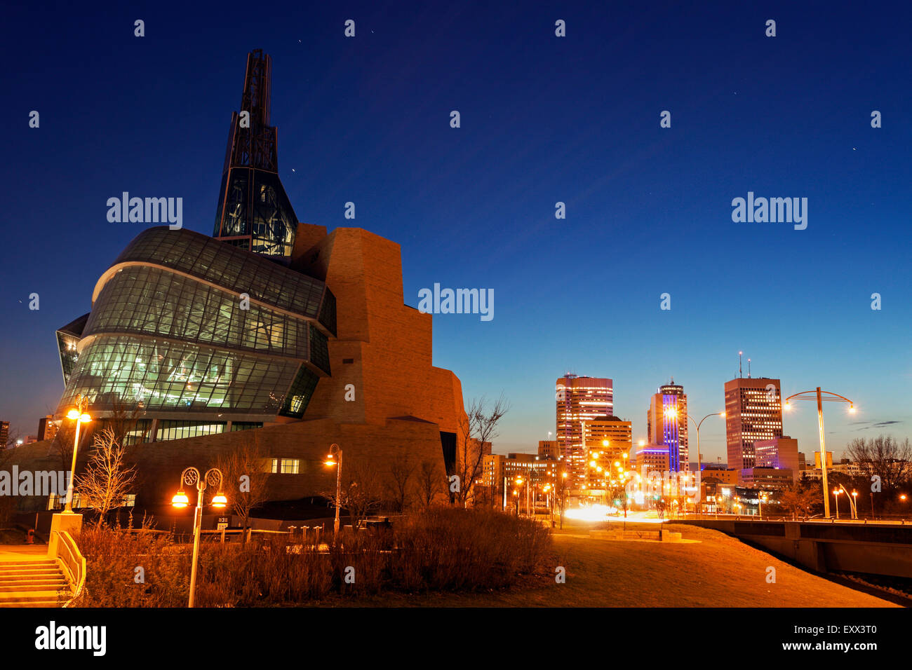 Canadian Museum for Human Rights - Stock Image
