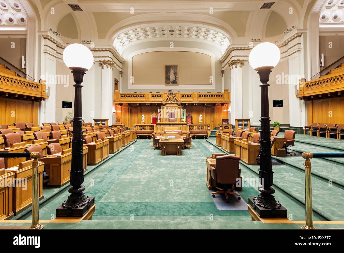 Interior of Saskatchewan Legislative Building - Stock Image