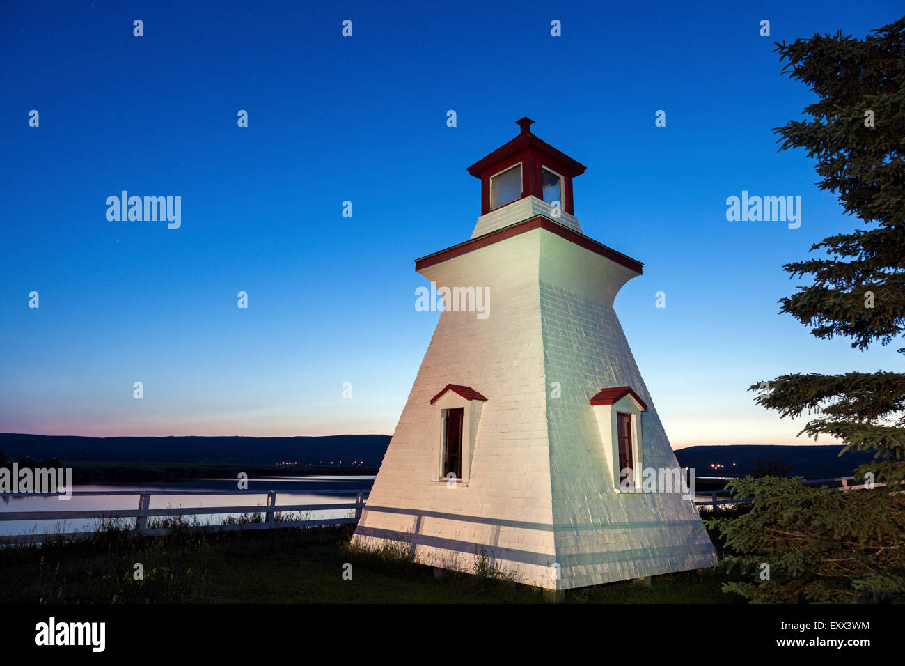 Anderson Hollow Lighthouse - Stock Image
