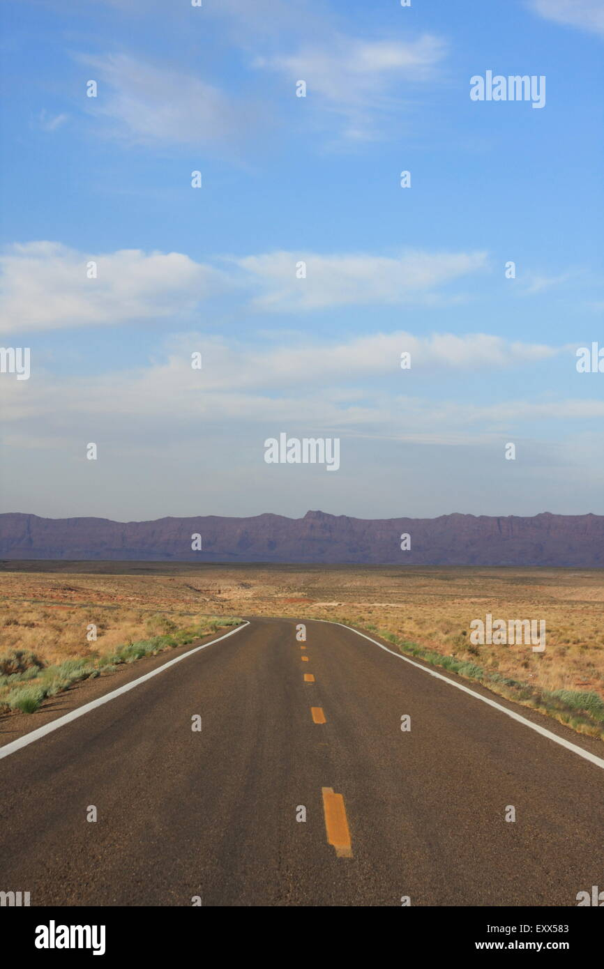 The Road To... - Stock Image