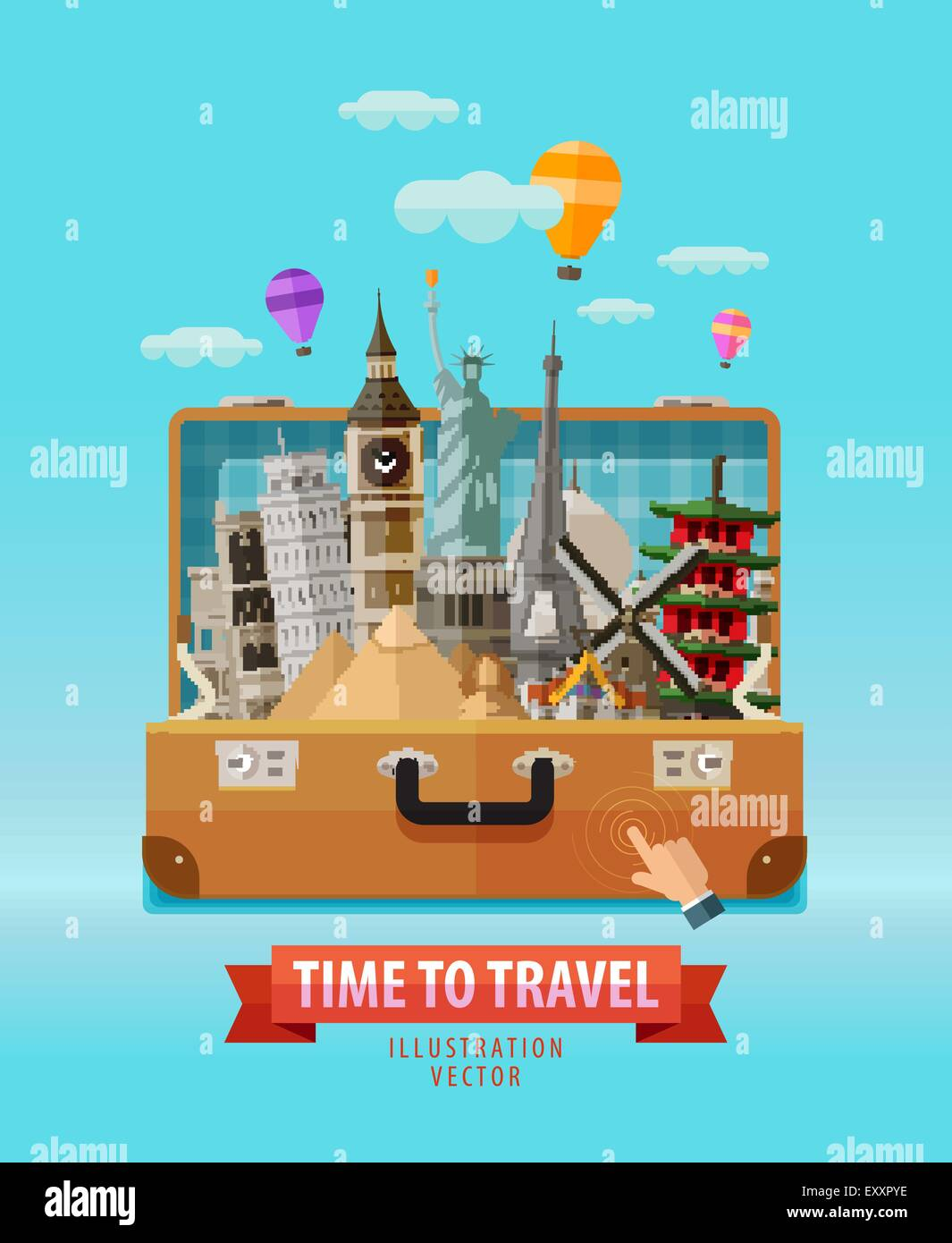 vacation vector logo design template travel journey trip or tour voyage icon