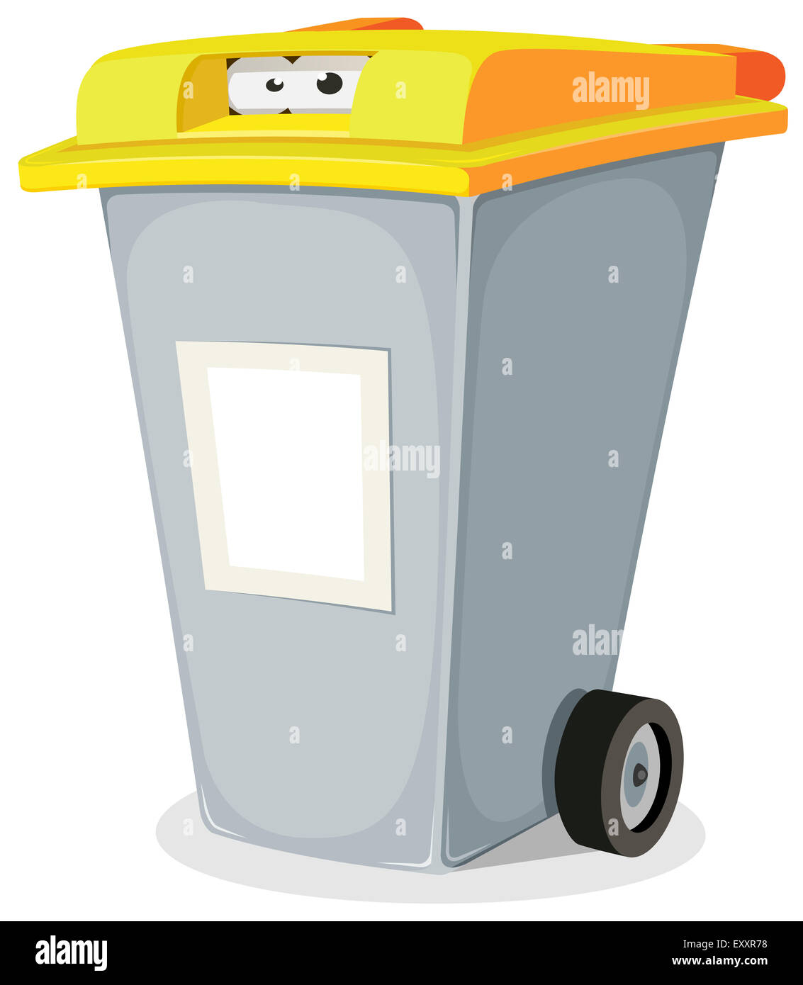 Character Dustbin Stock Photos & Character Dustbin Stock Images - Alamy