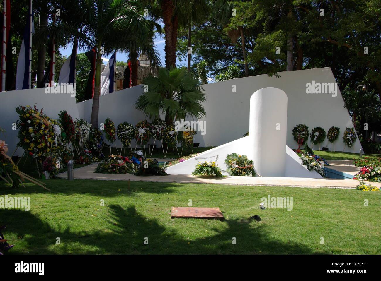 Memorial in Managua, Nicaragua Stock Photo