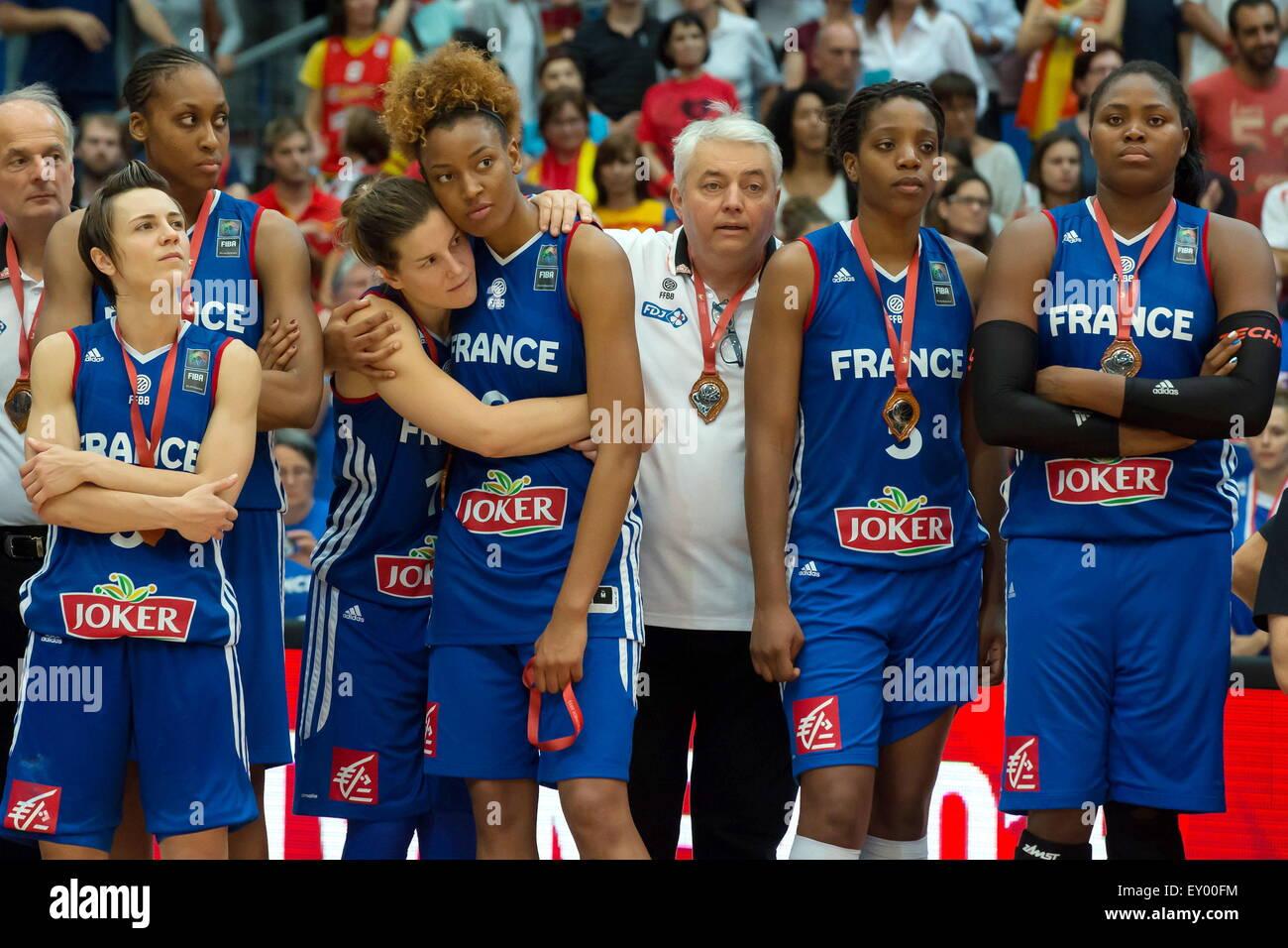 Equipe De France 28 06 2015 France Serbie Finale Championnat