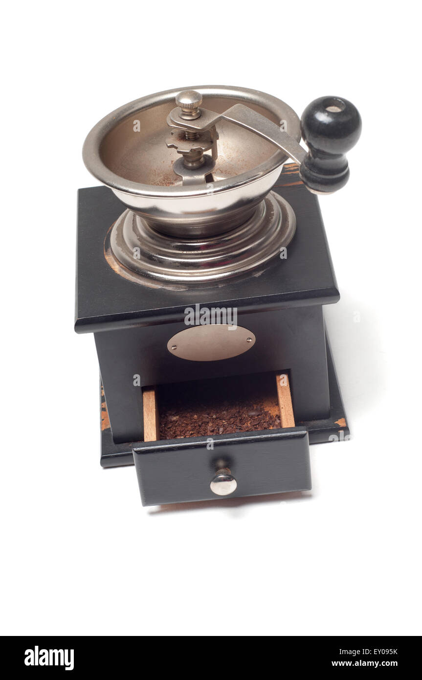 Vintage coffee mill - Stock Image