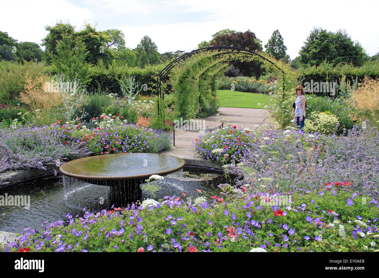 Royal Horticultural Society Arts Fest, RHS Garden Wisley, Woking, Surrey, UK. 18th and 19th July 2015. Two day event - Stock Image