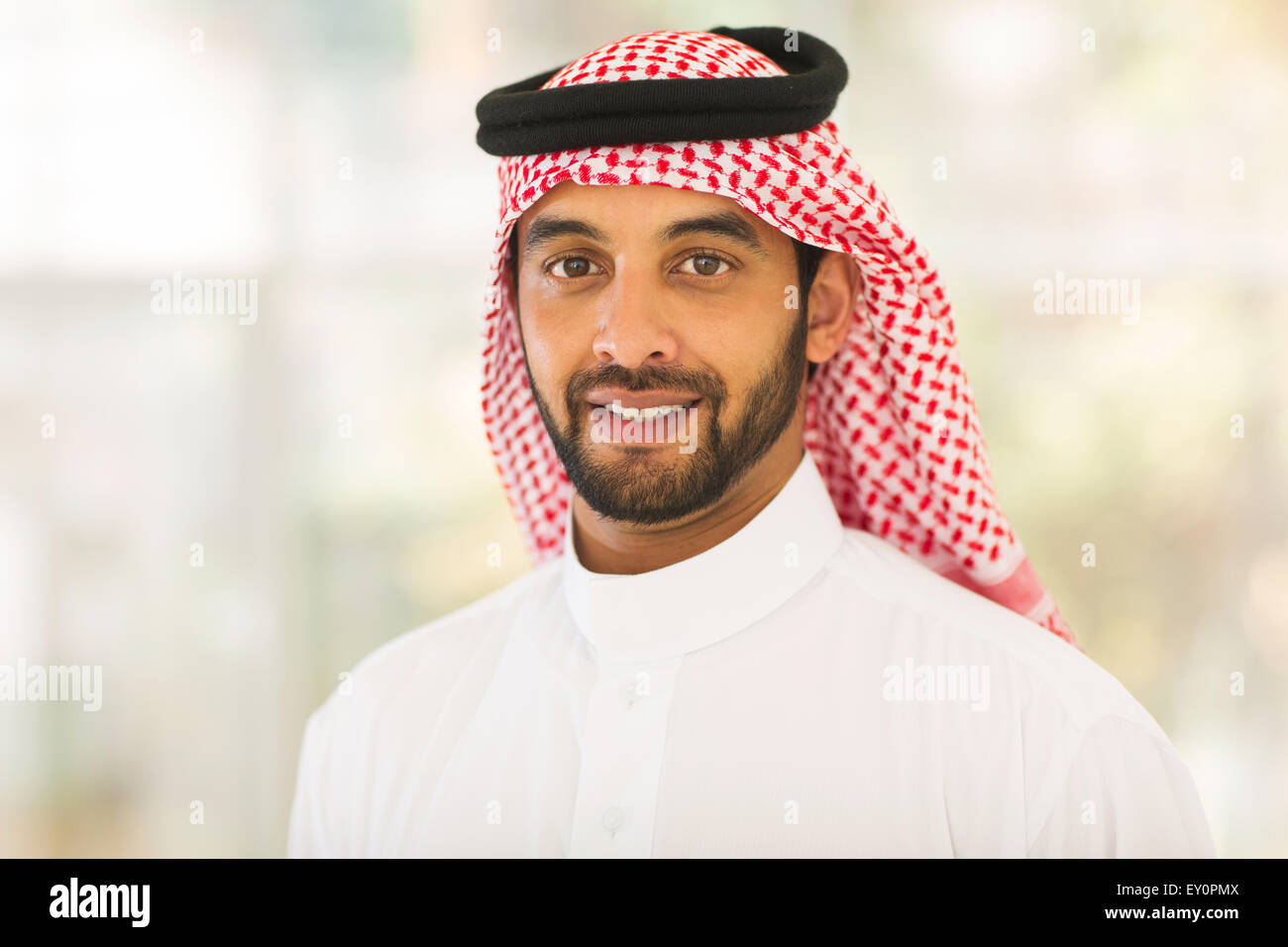 Attractive middle eastern man