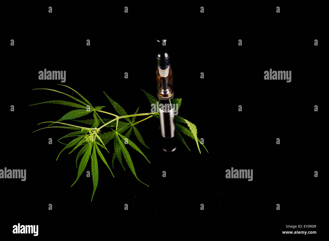 Electronic Cigarette E-cig Vaporizer - Stock Image