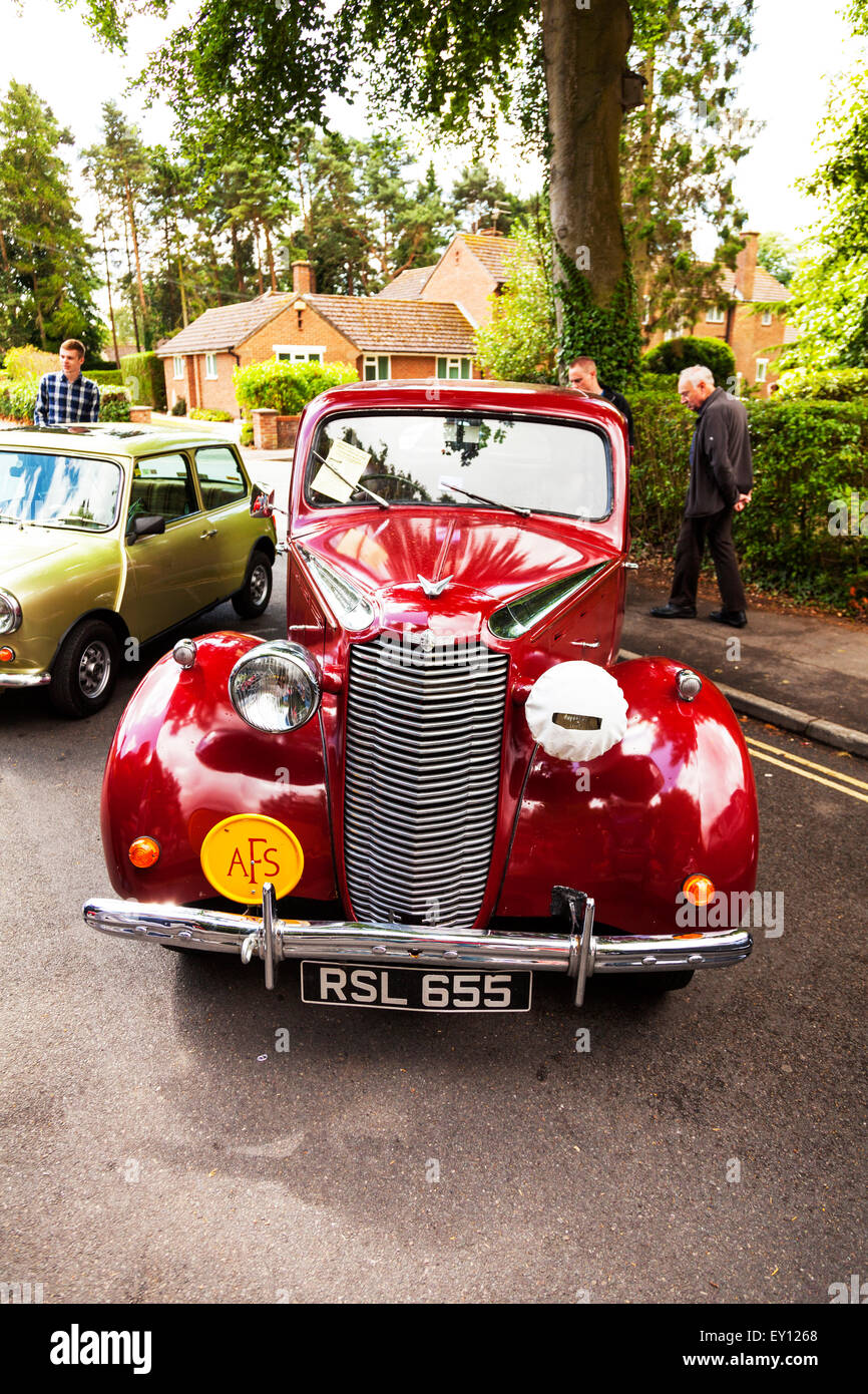 Vauxhall Classic Car Vehicle Antique Traditional Red Old