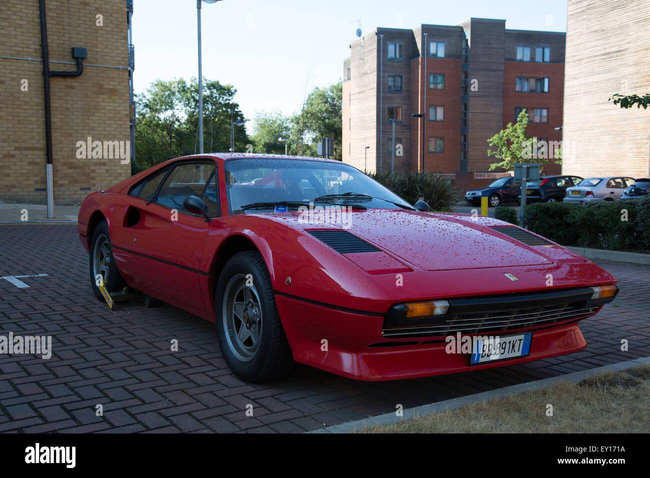 Classic car Ferrari 308 GTS - Stock Image