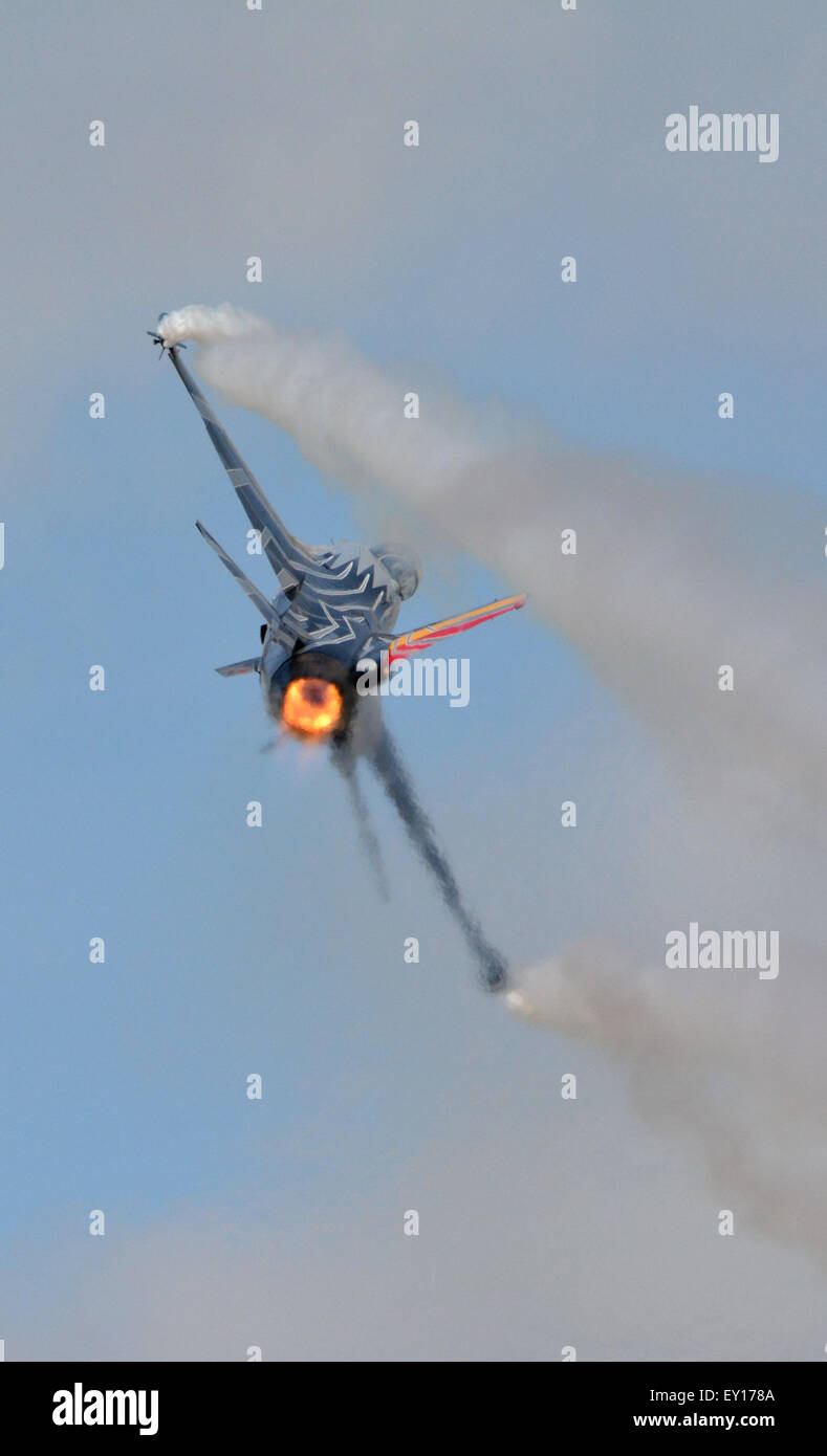 Belgian F-16 - Stock Image