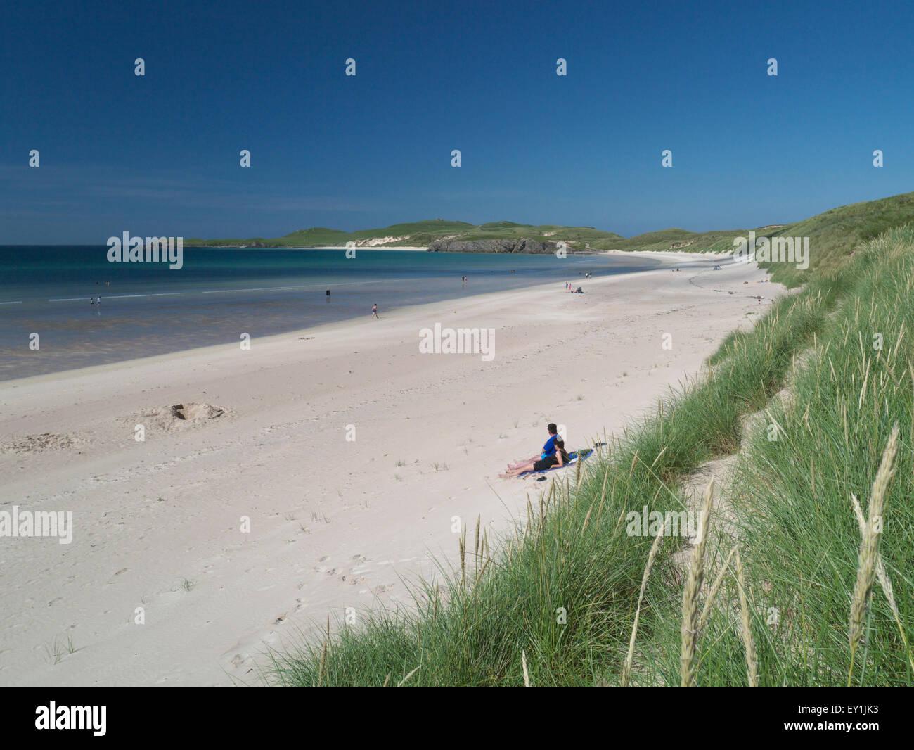Balnakiel Beach, Sutherland Stock Photo