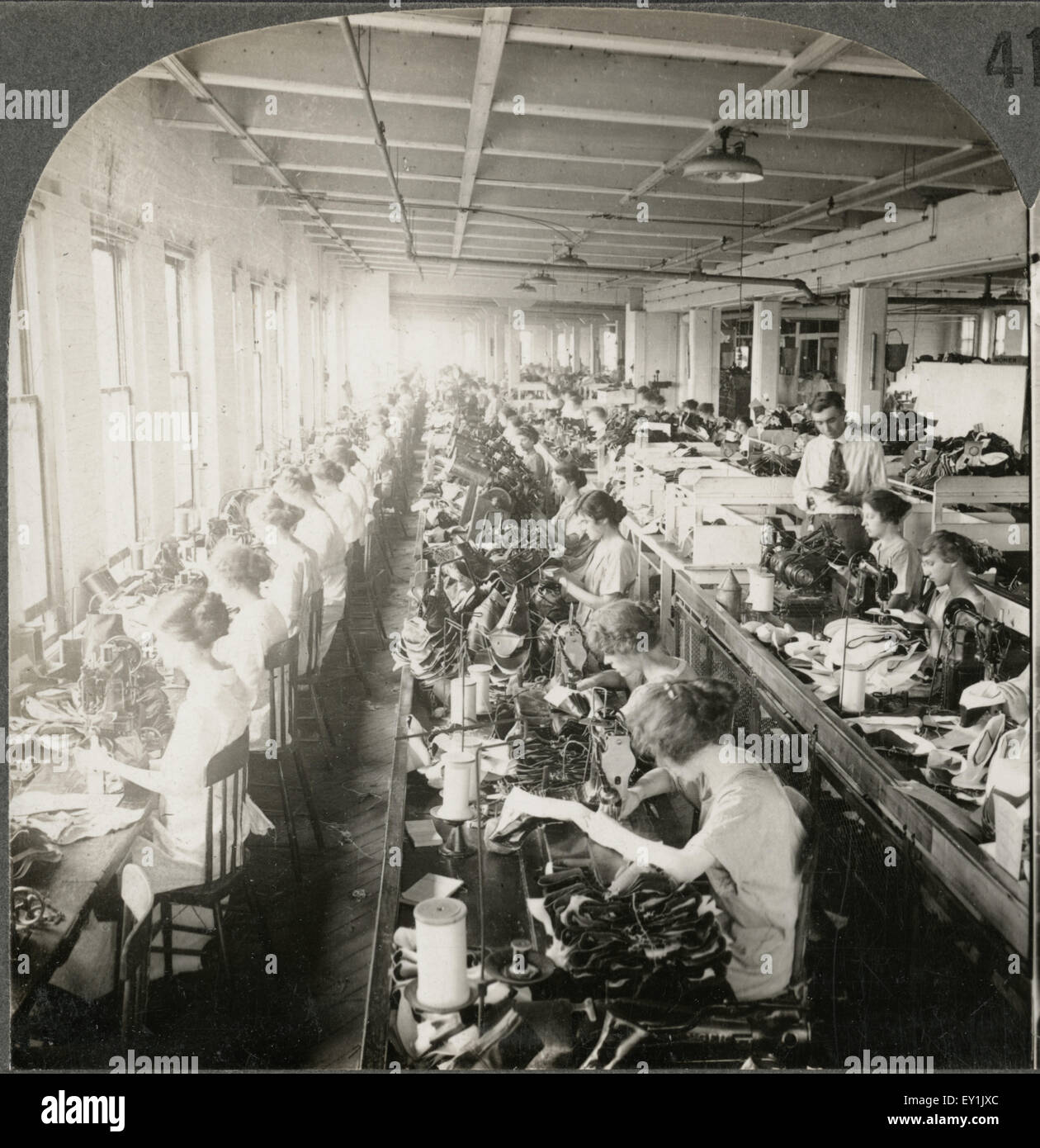 Shoe Factory: B&w Sewing Stock Photos & B&w Sewing Stock Images