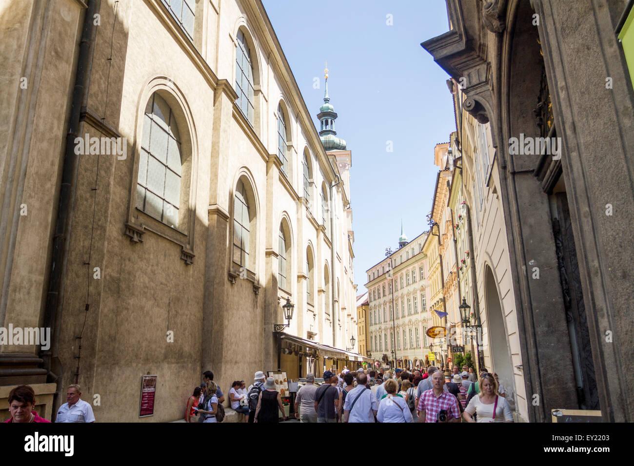 Czech street full