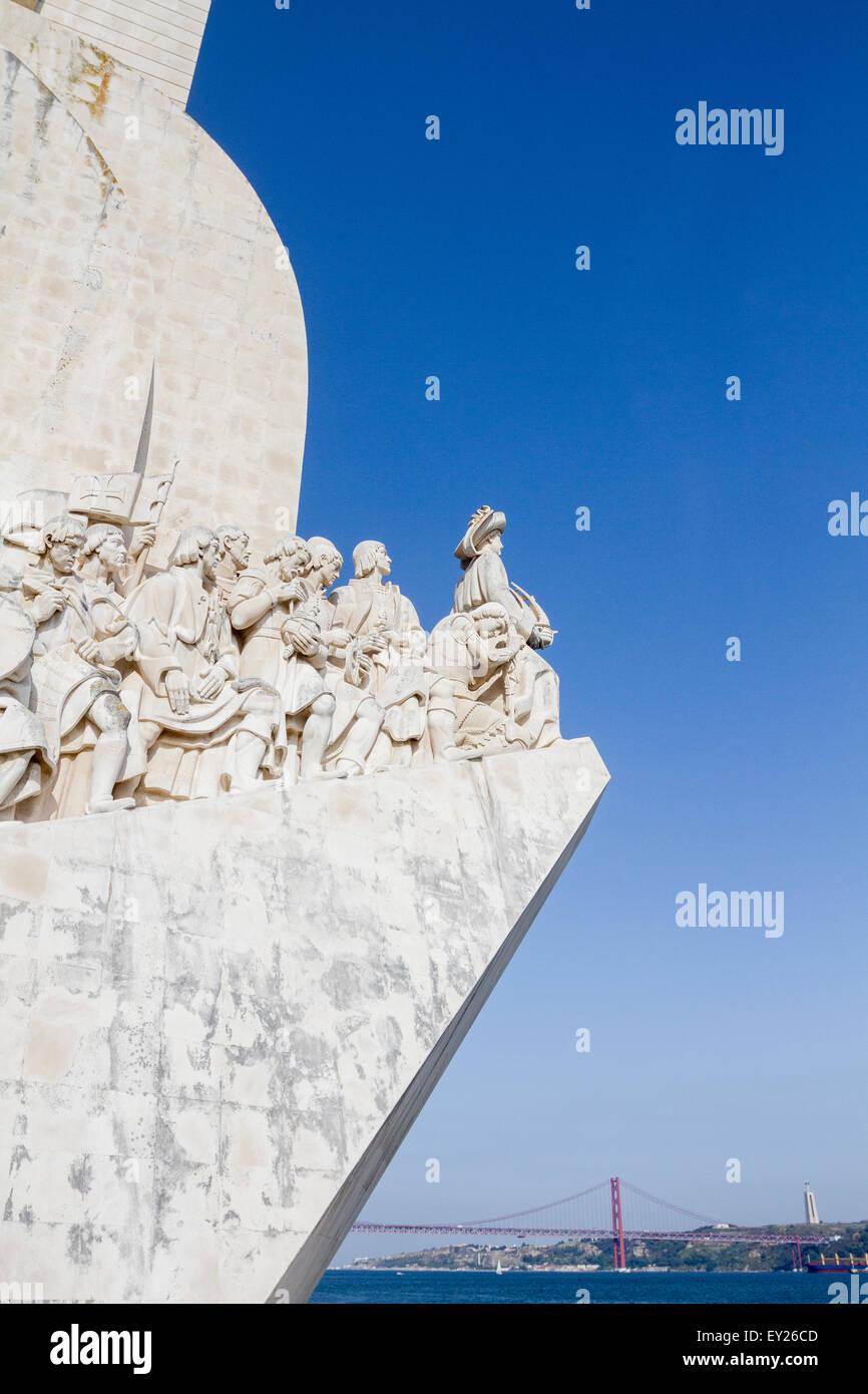 Padrao dos Descobrimentos, Belem, Lisbon, Portugal - Stock Image