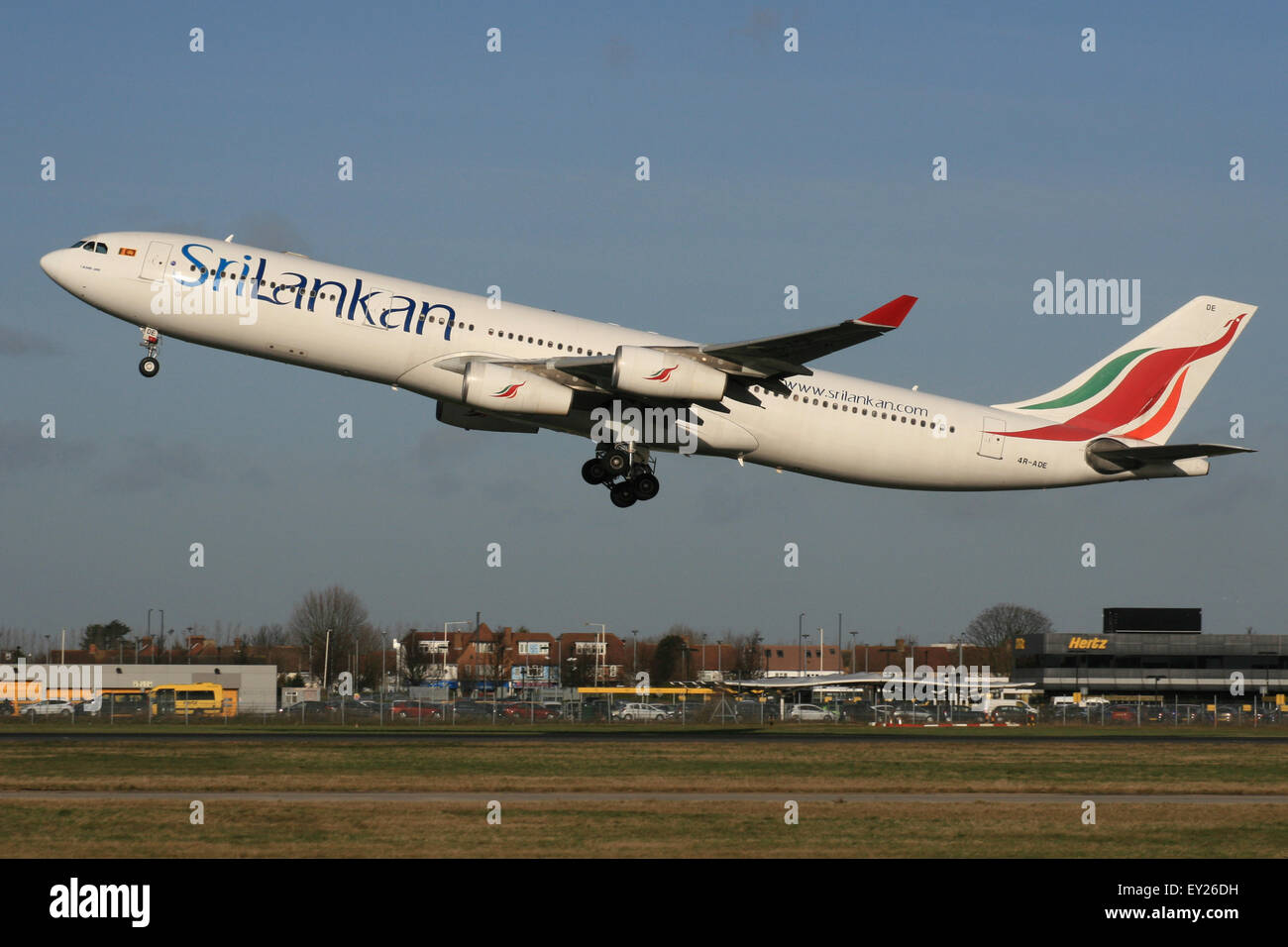 SRI LANKA SRILANKAN A340 Stock Photo