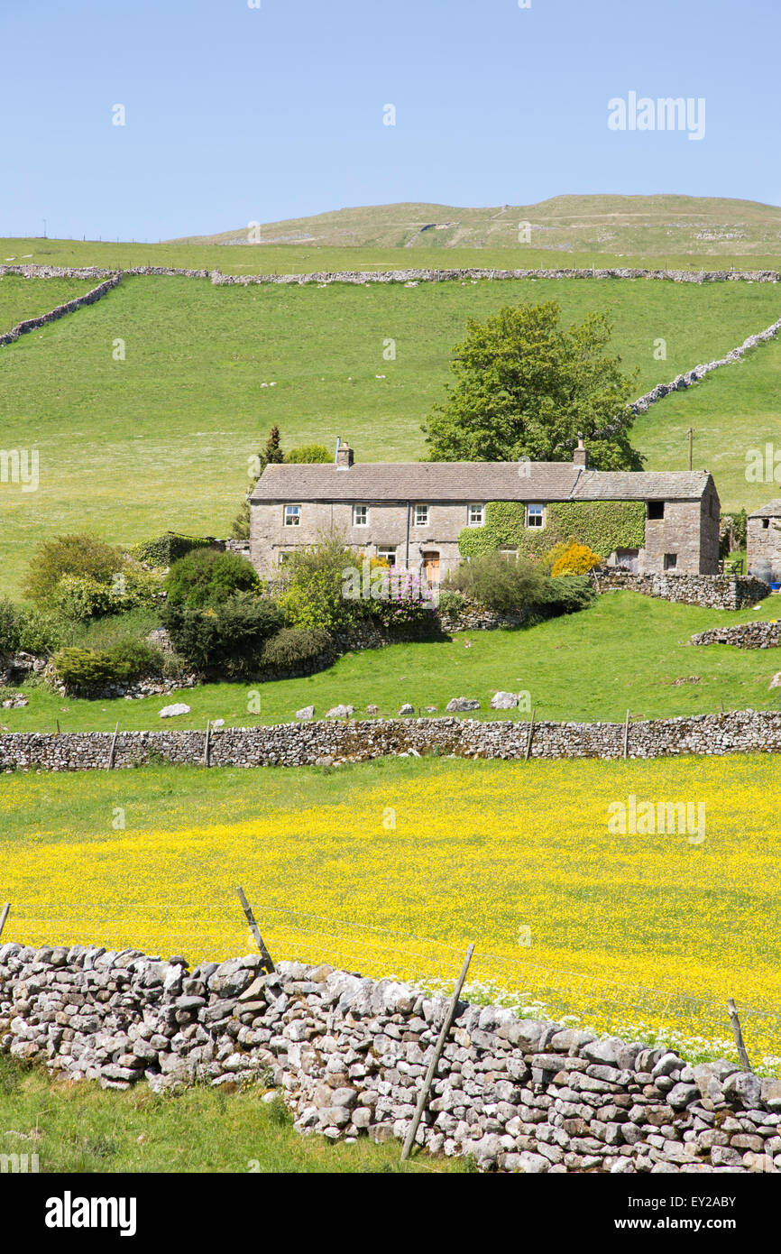 Traditional Stone Dales Farmhouse In Wharfdale, Yorkshire