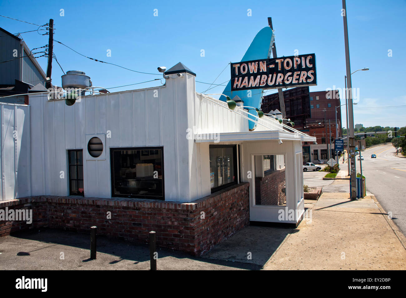 Town Topic Hamburgers Diner in Kansas City, Missouri - Stock Image