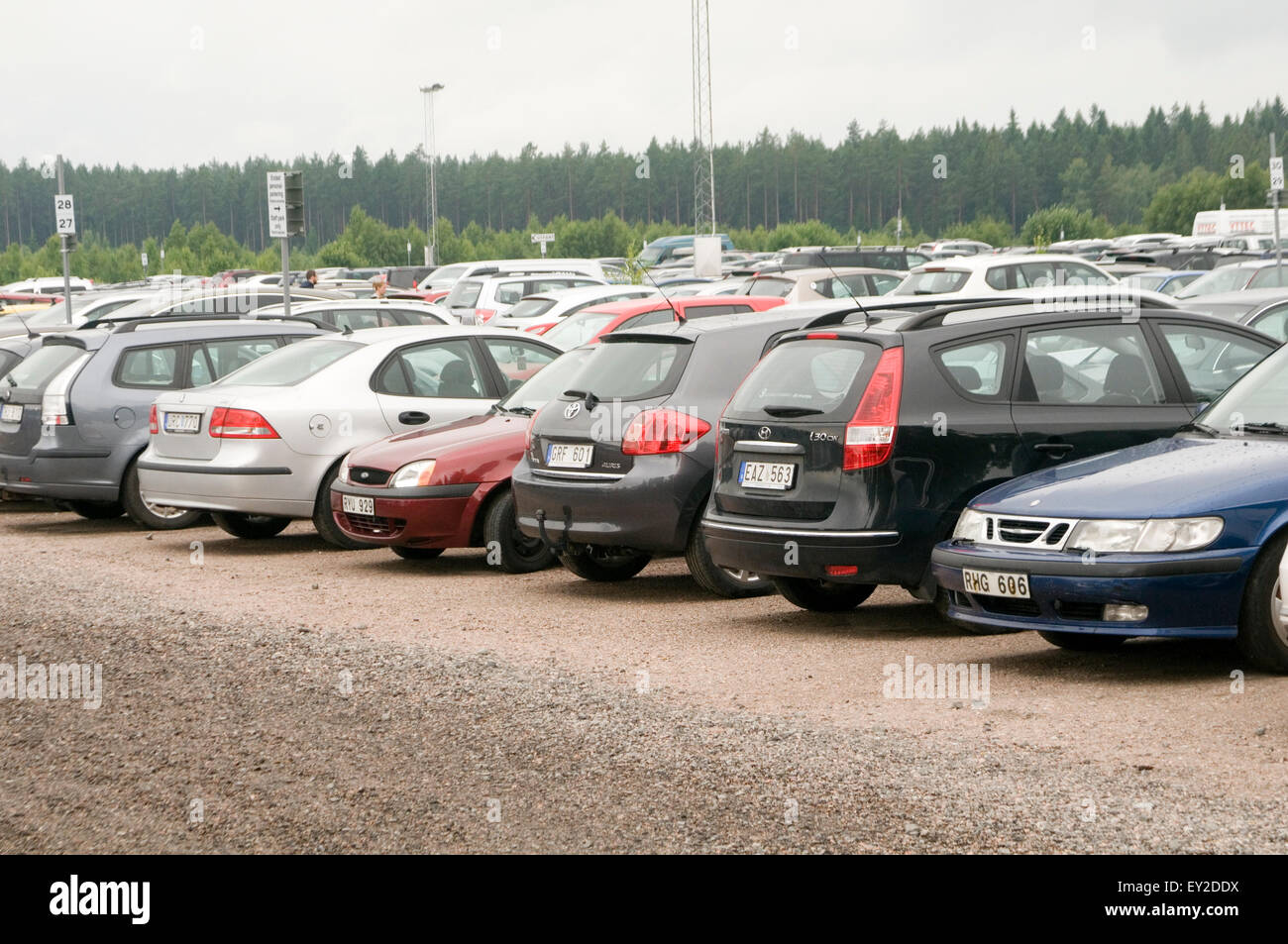 Car Parking Airport Stock Photos Car Parking Airport Stock Images