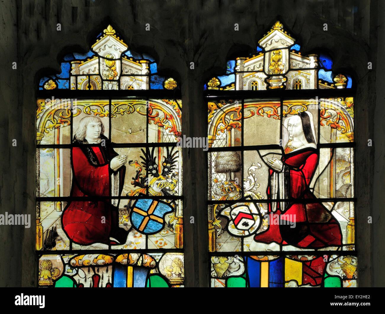Sir John and Lady Anne Shelton, formerly Anne Boleyn, Aunt
