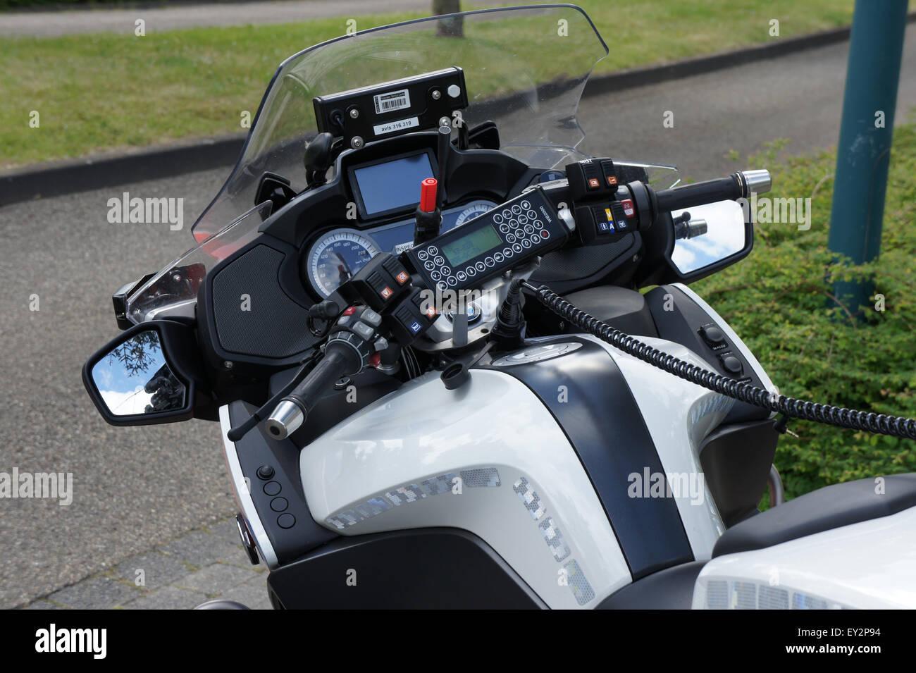 Police Motorbike Bmw R1200rt Unit 66 51 Pic2 Stock Photo 85498592