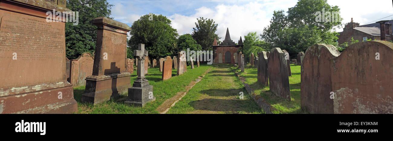 Annan Old Parish Church of Scotland - Stock Image