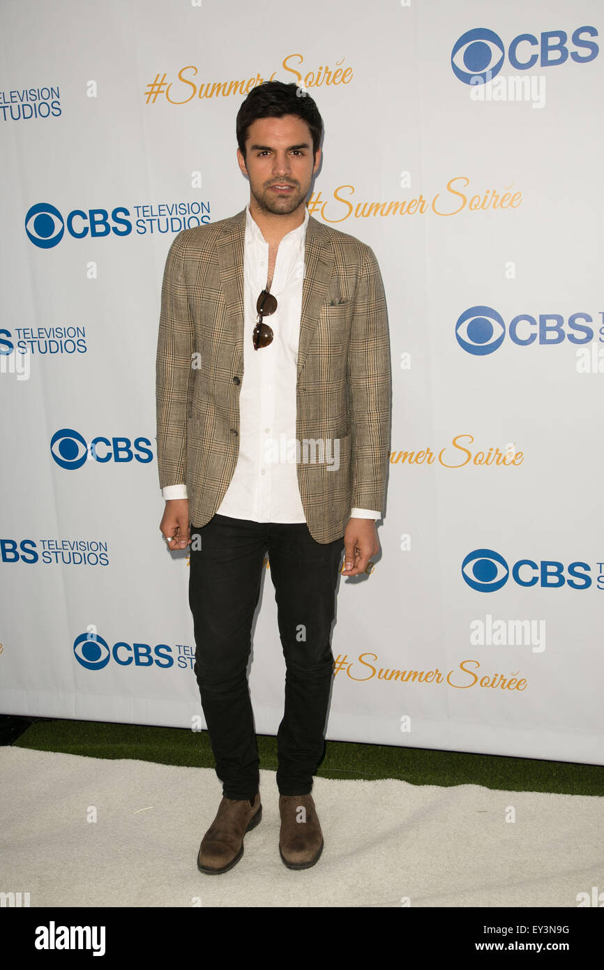 Celebrities attend the 3rd Annual CBS Television Studios Rooftop Summer Soiree at The London Hotel.  Featuring: - Stock Image