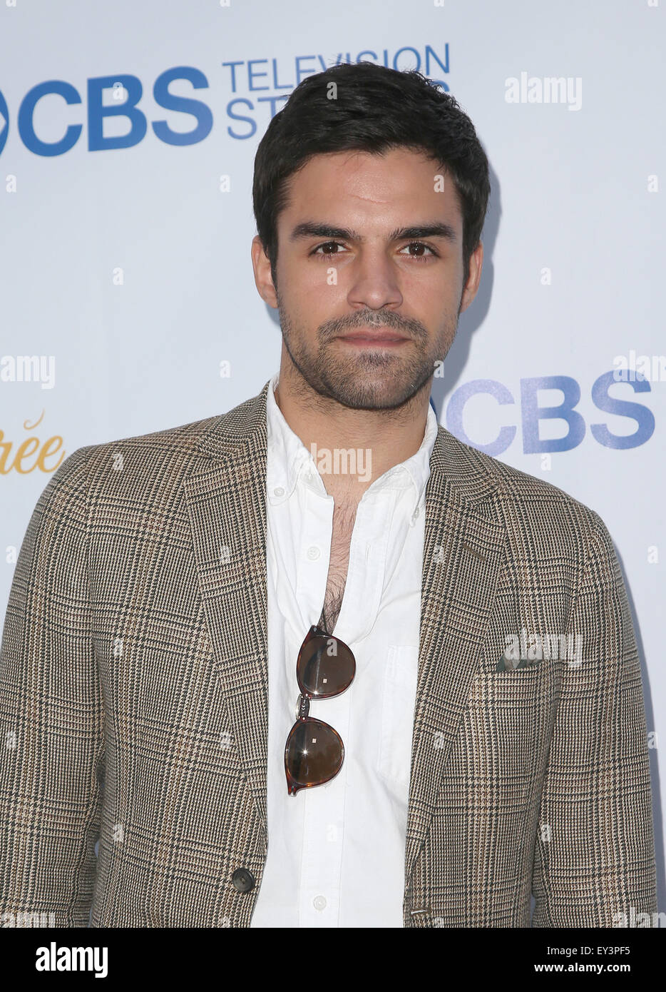 3rd Annual CBS Television Studios Rooftop Summer Soiree  Featuring: Sean Teale Where: West Hollywood, California, - Stock Image