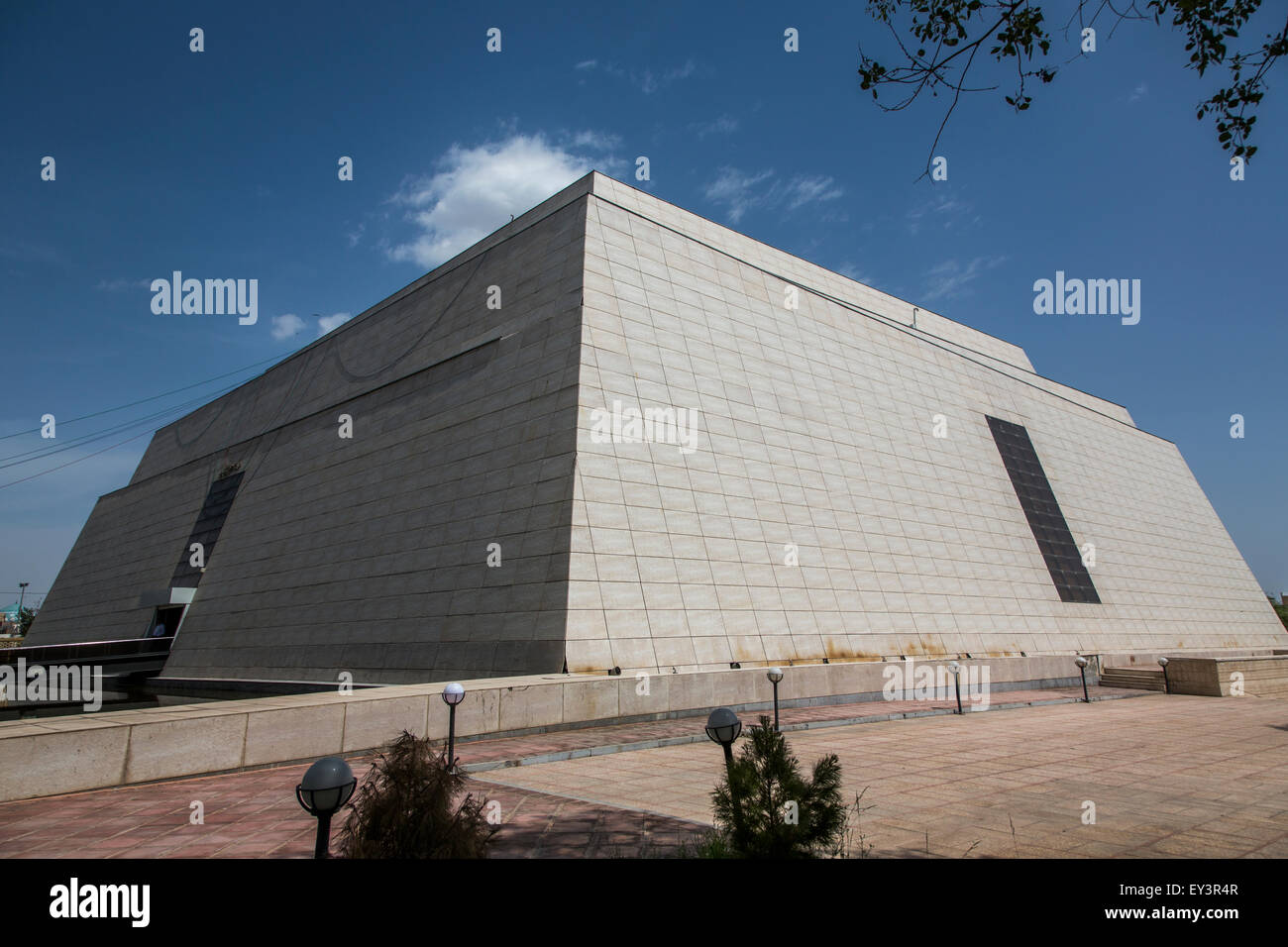 archaeological and anthropological Museum of Zahedan, Iran - Stock Image