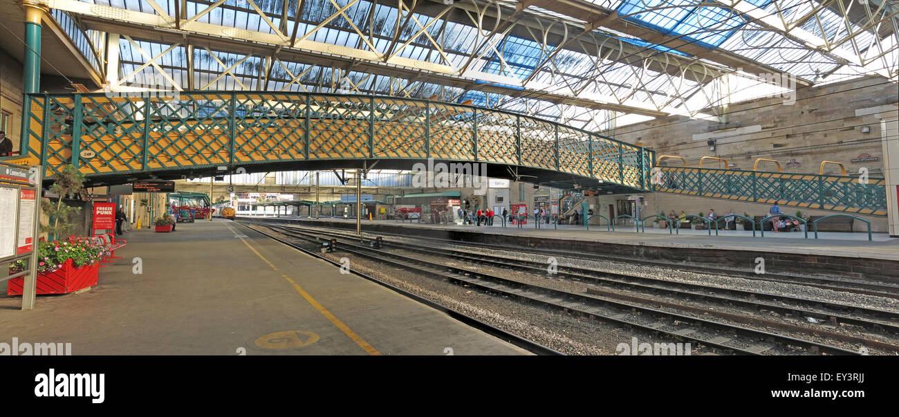 Carlisle Citadel Railway Station, Cumbria, England, UK - Stock Image